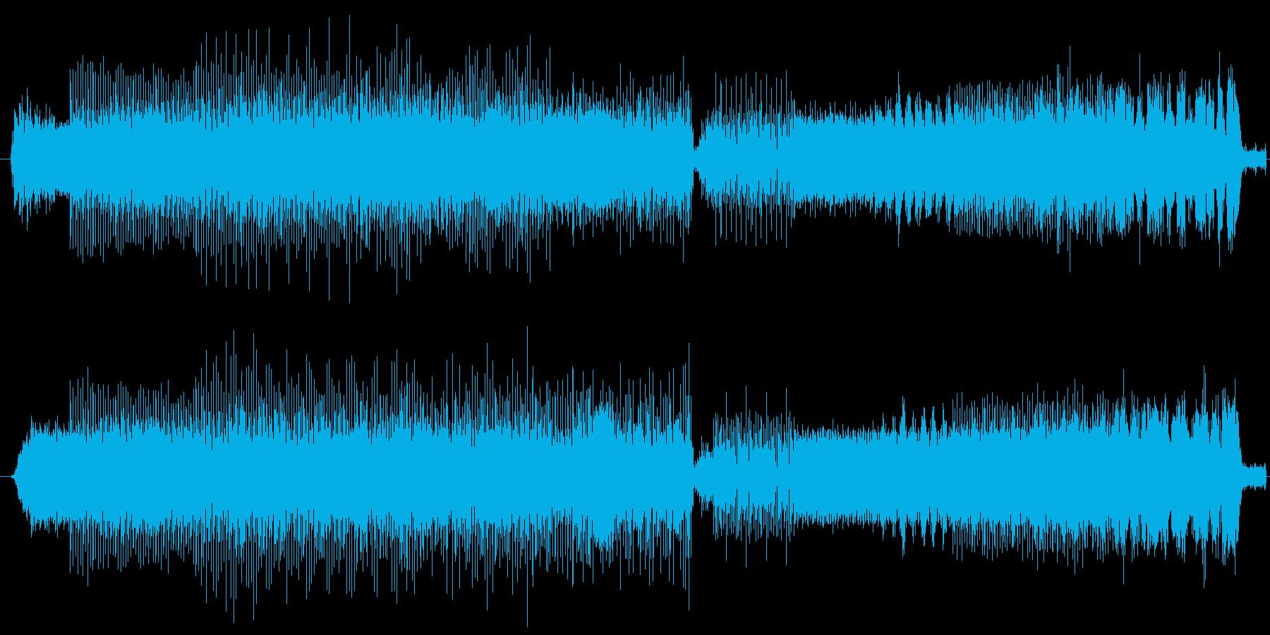 明るいイントロから軽快なビートを刻みつ…の再生済みの波形