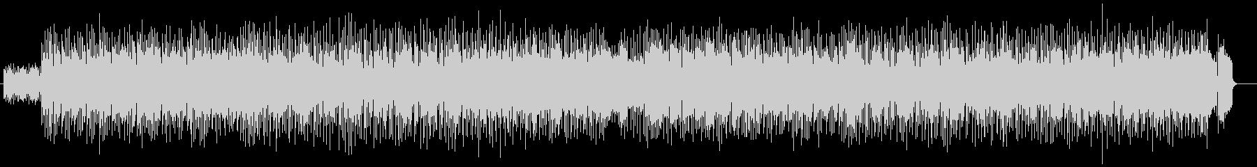 アップテンポシンセサイザー曲の未再生の波形