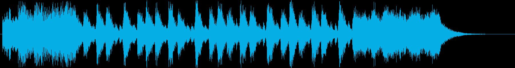 ドキドキ感のあるシンセ・打楽器など短めの再生済みの波形