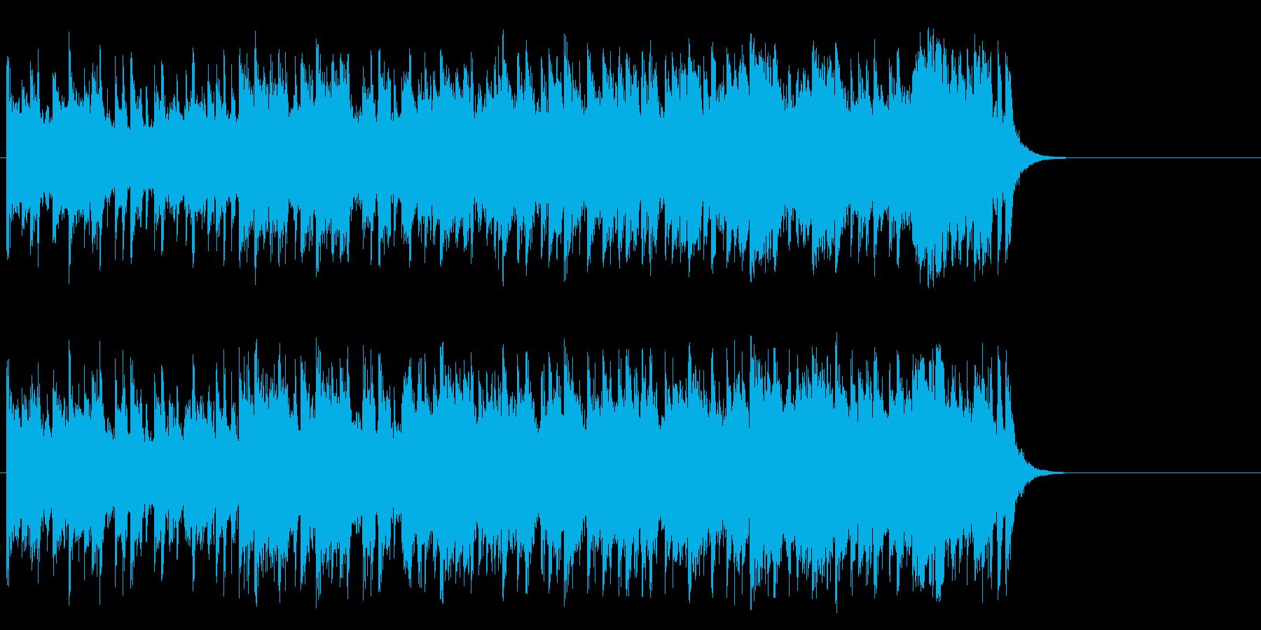 企画PR向け爽やかポップ(サビ~エンド)の再生済みの波形