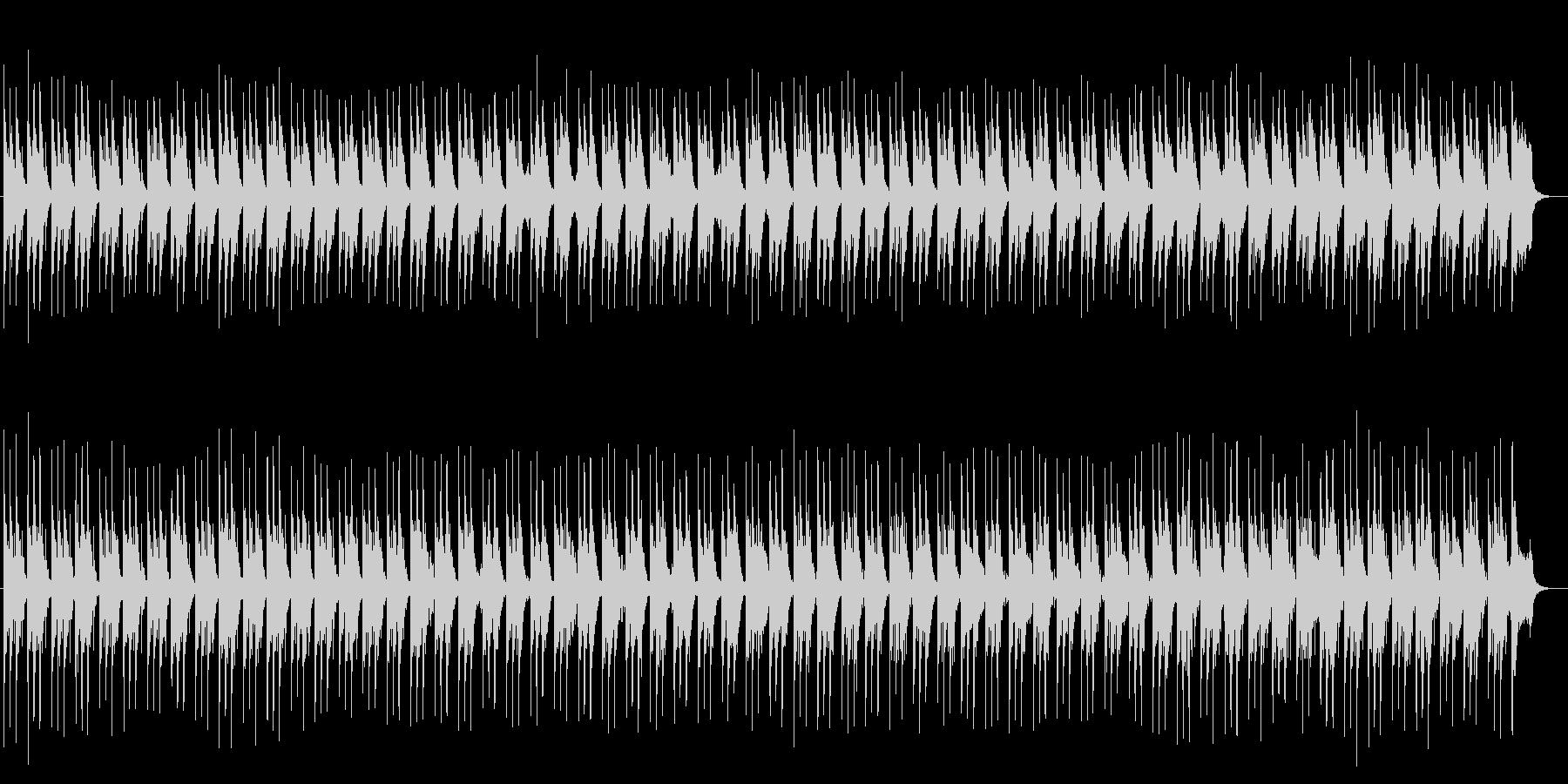奇麗で透明感のあるシンセサイザーサウンドの未再生の波形