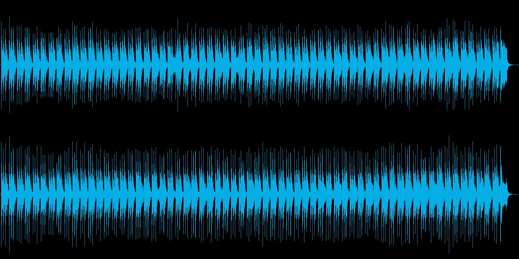 奇麗で透明感のあるシンセサイザーサウンドの再生済みの波形