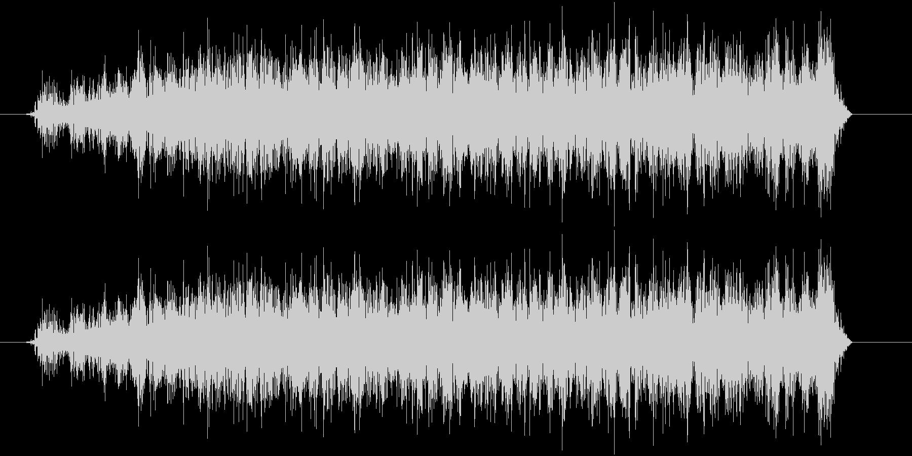 ウィーーン(モーター)の未再生の波形