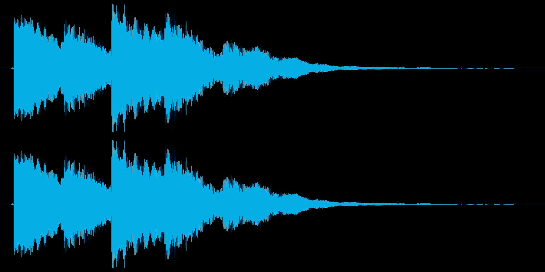 テロップ表示 ピコピコリンの再生済みの波形