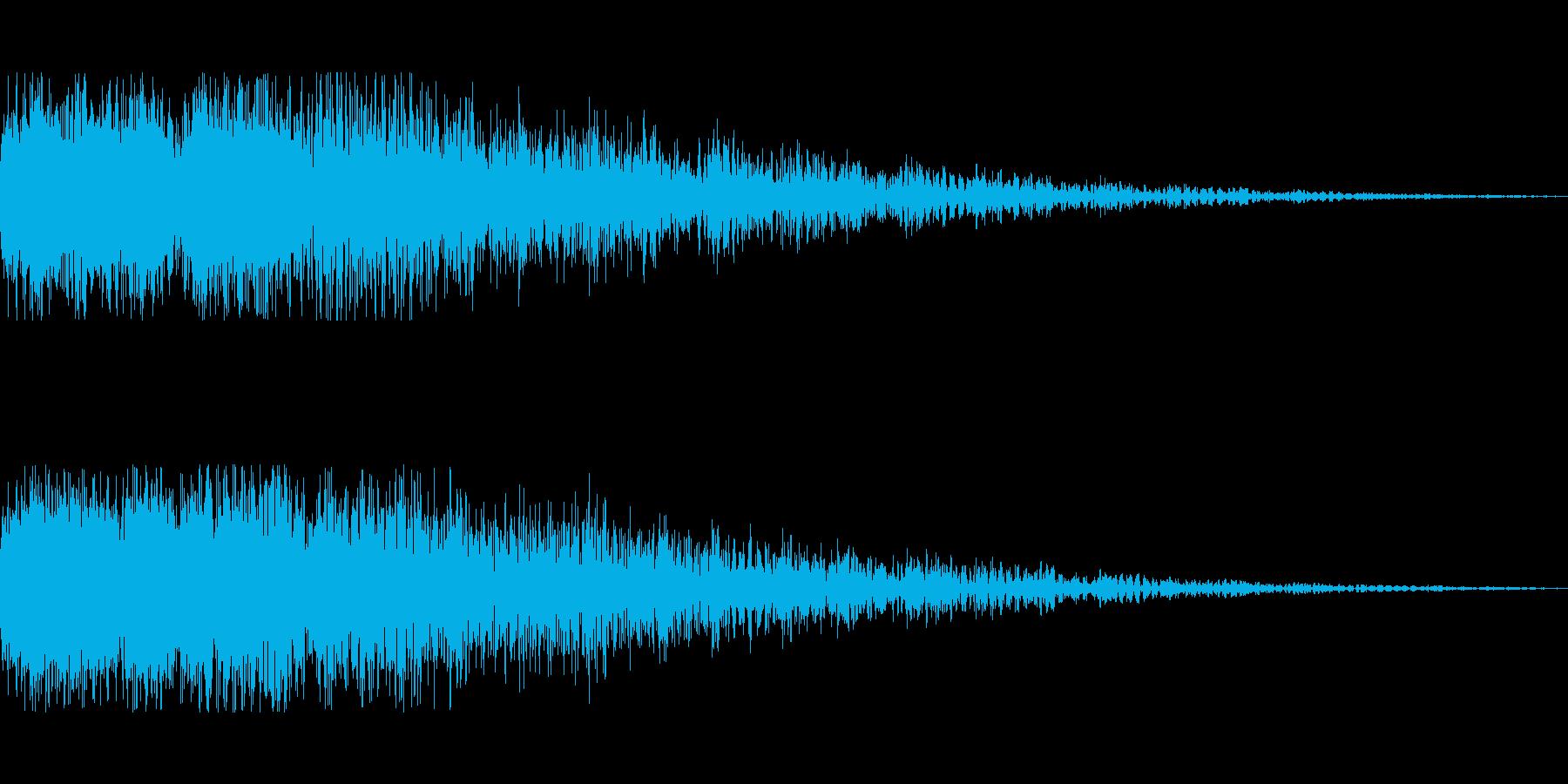[タララン]スキルUP(柔かい)の再生済みの波形