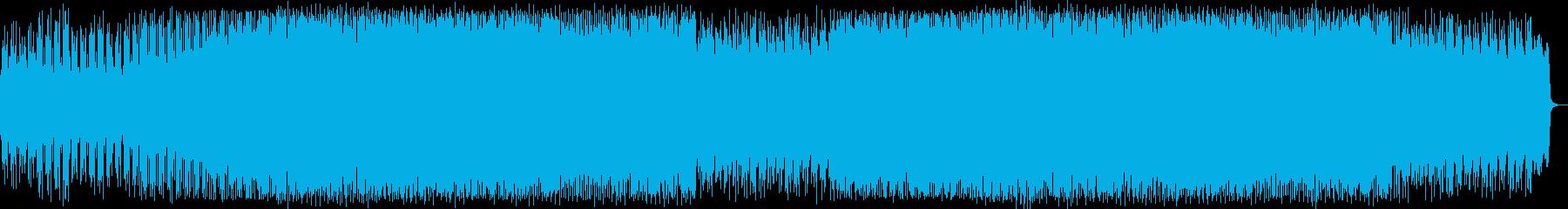 おしゃれなシンセポップハウス系の再生済みの波形