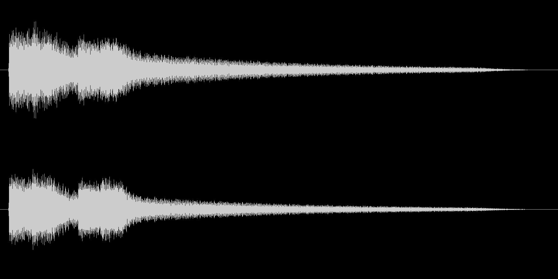 擬音【ぐわーぐわー】【エンコード192…の未再生の波形