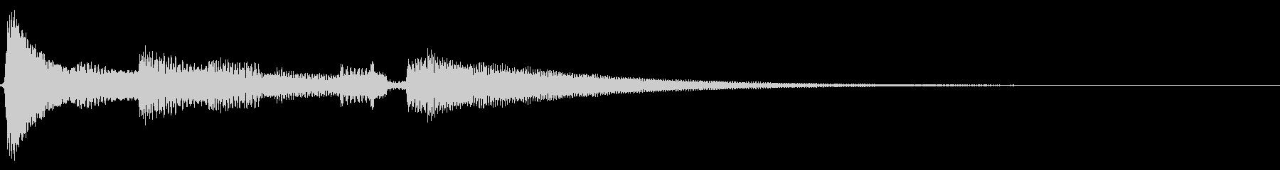 アコギ生音のジングル/おしゃれ の未再生の波形