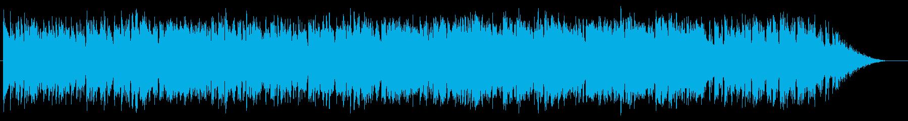 リズミックで爽やかで穏やかなBGMの再生済みの波形