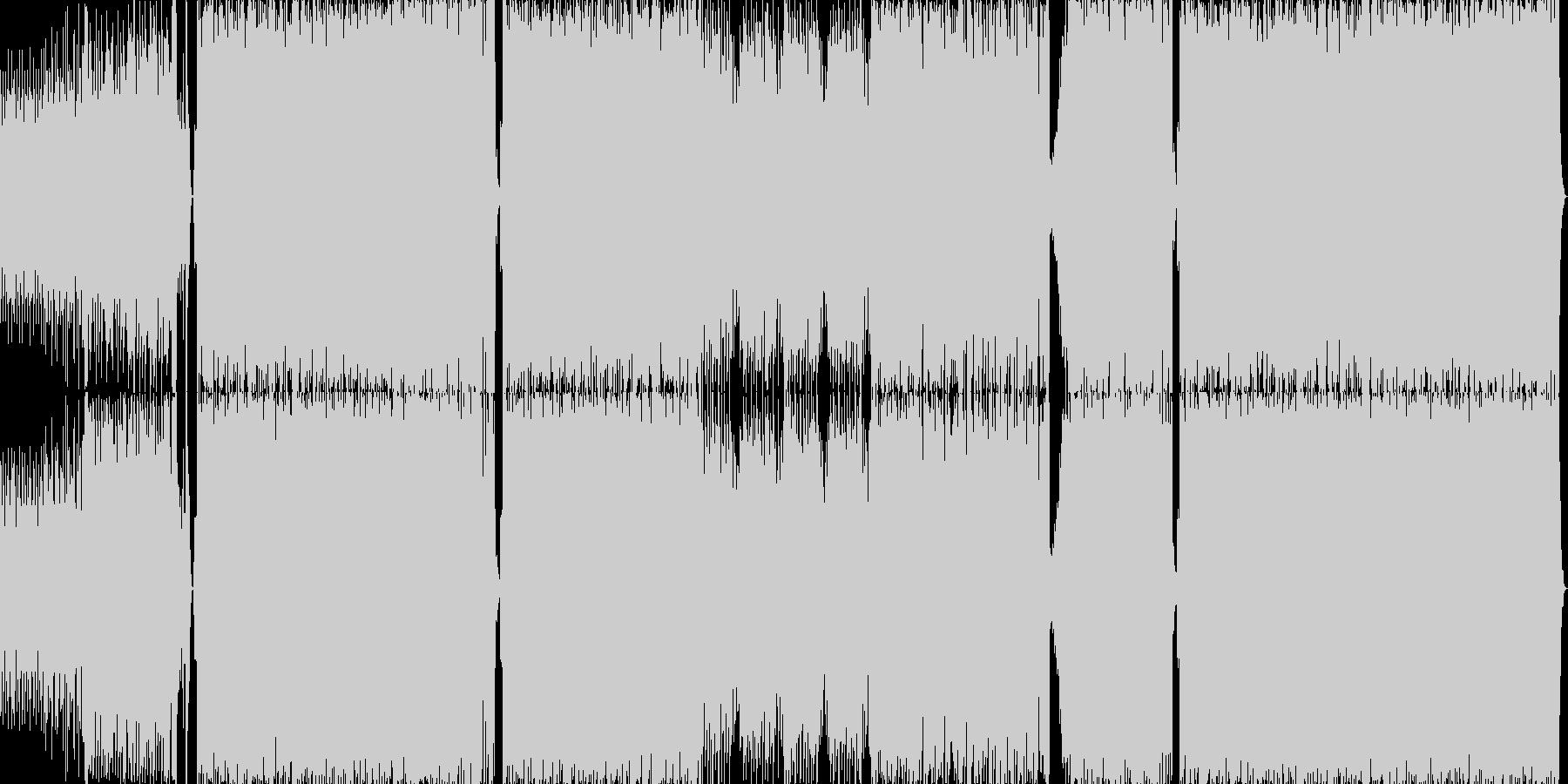 ハイテンポでノリの良いラテンサウンドの未再生の波形