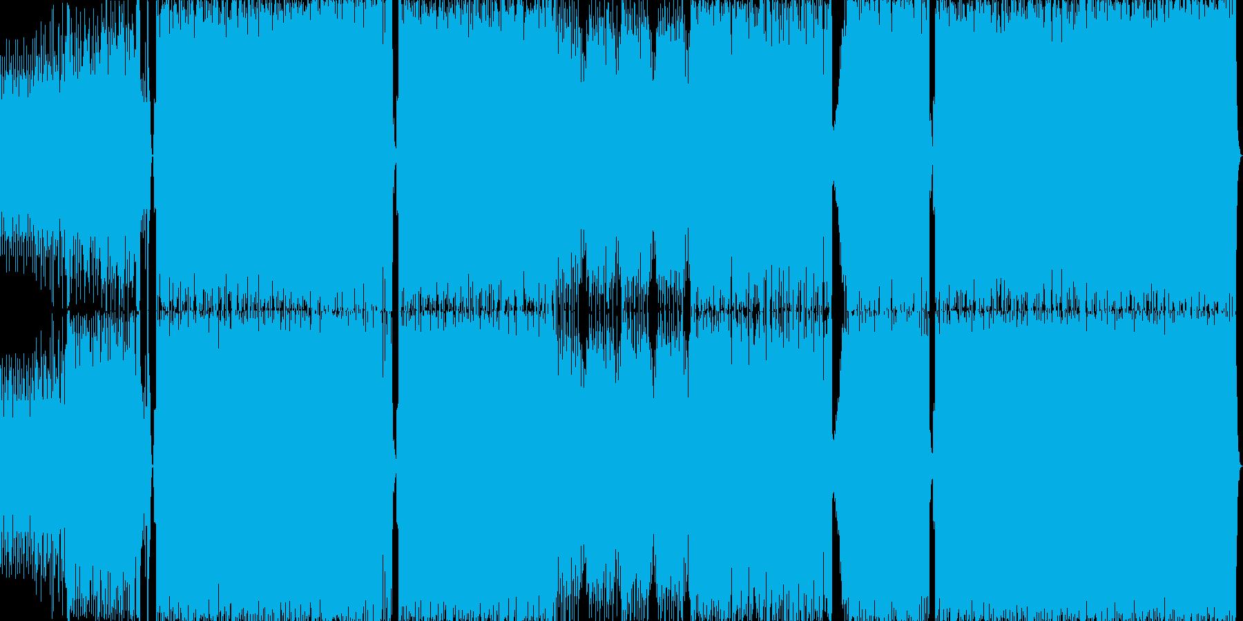 ハイテンポでノリの良いラテンサウンドの再生済みの波形