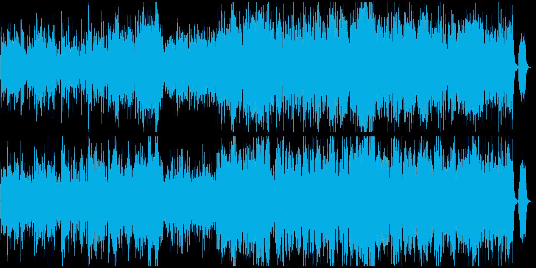 優雅なクラシックオーケストラの再生済みの波形