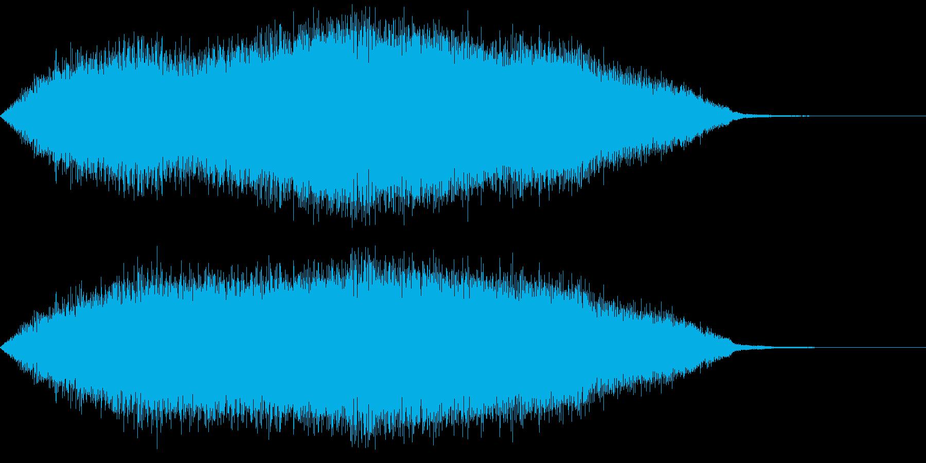 ミステリアスな音 不安 不気味 シャーンの再生済みの波形
