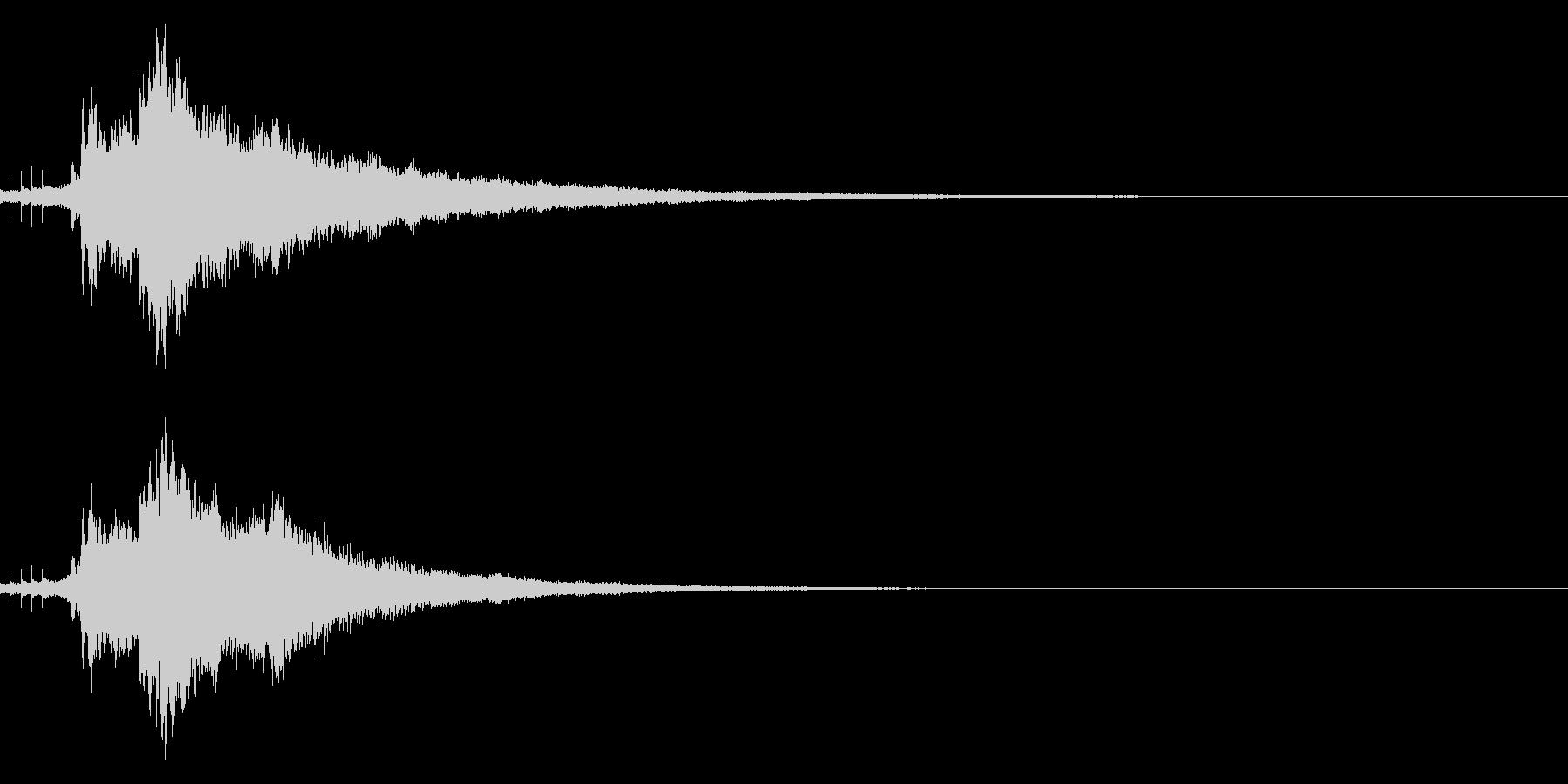 【キラキラ34】光や天使に最適な効果音!の未再生の波形