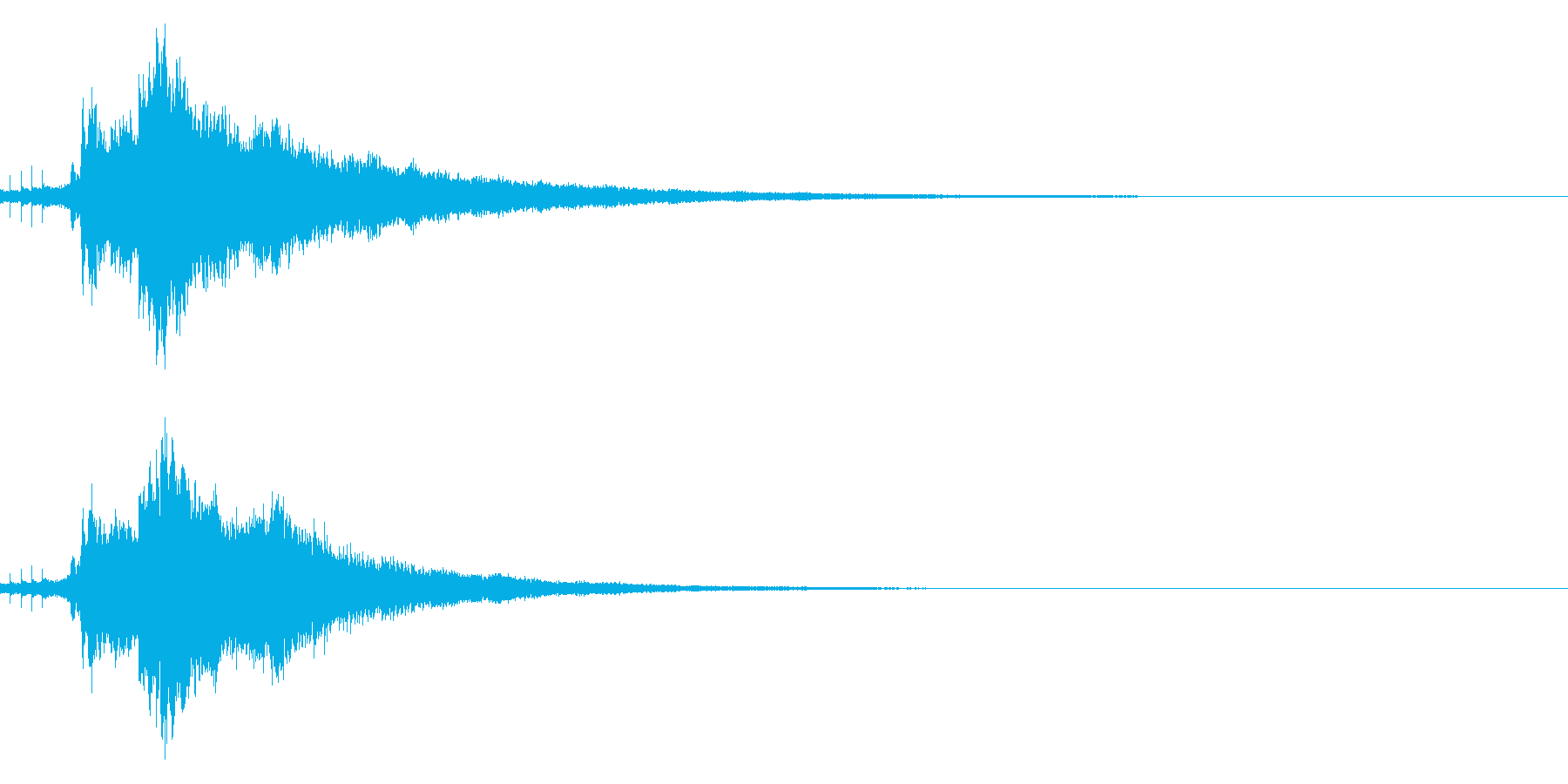 【キラキラ34】光や天使に最適な効果音!の再生済みの波形
