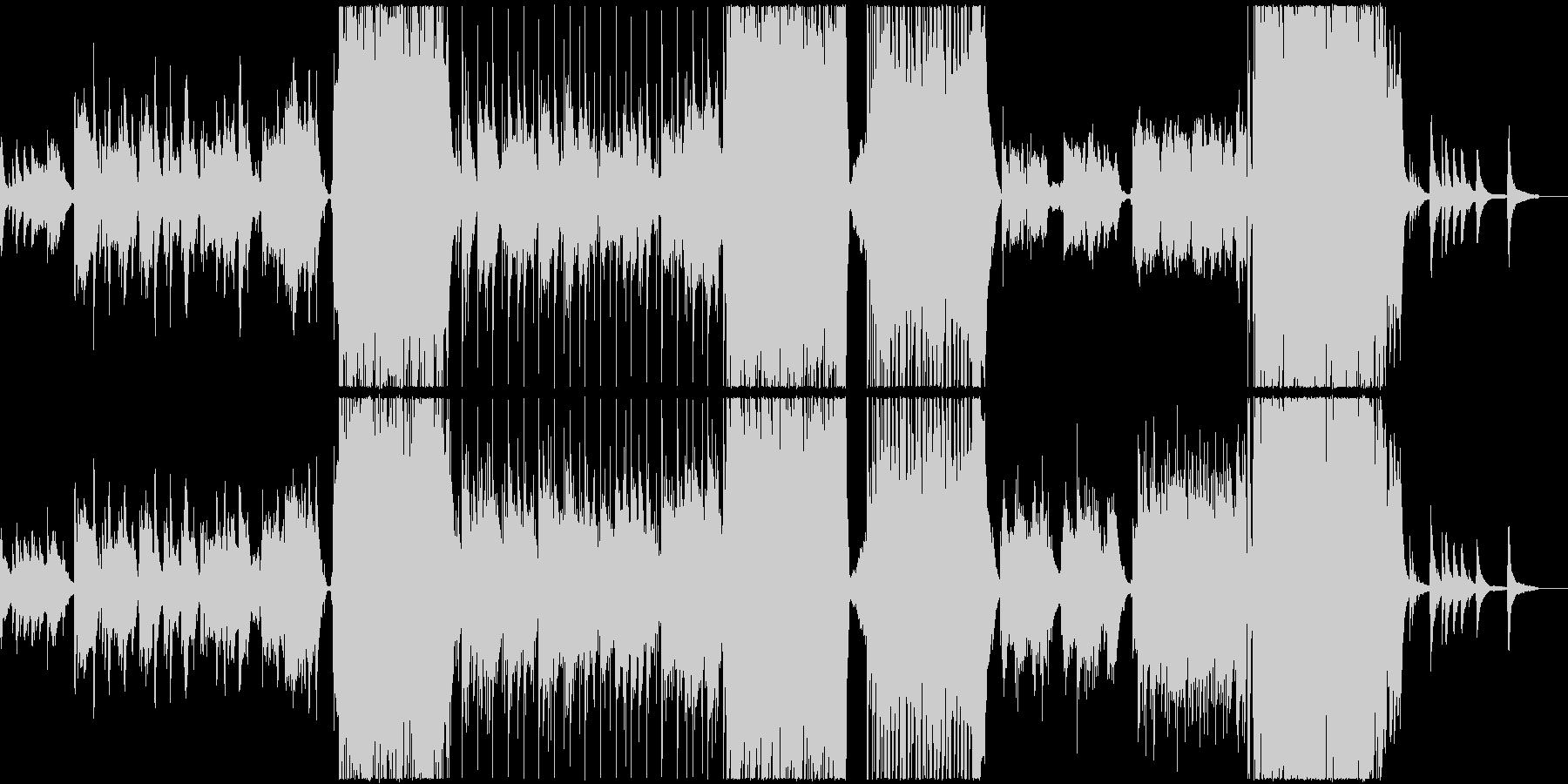 感動系せつない女性ボーカル入りバラードの未再生の波形