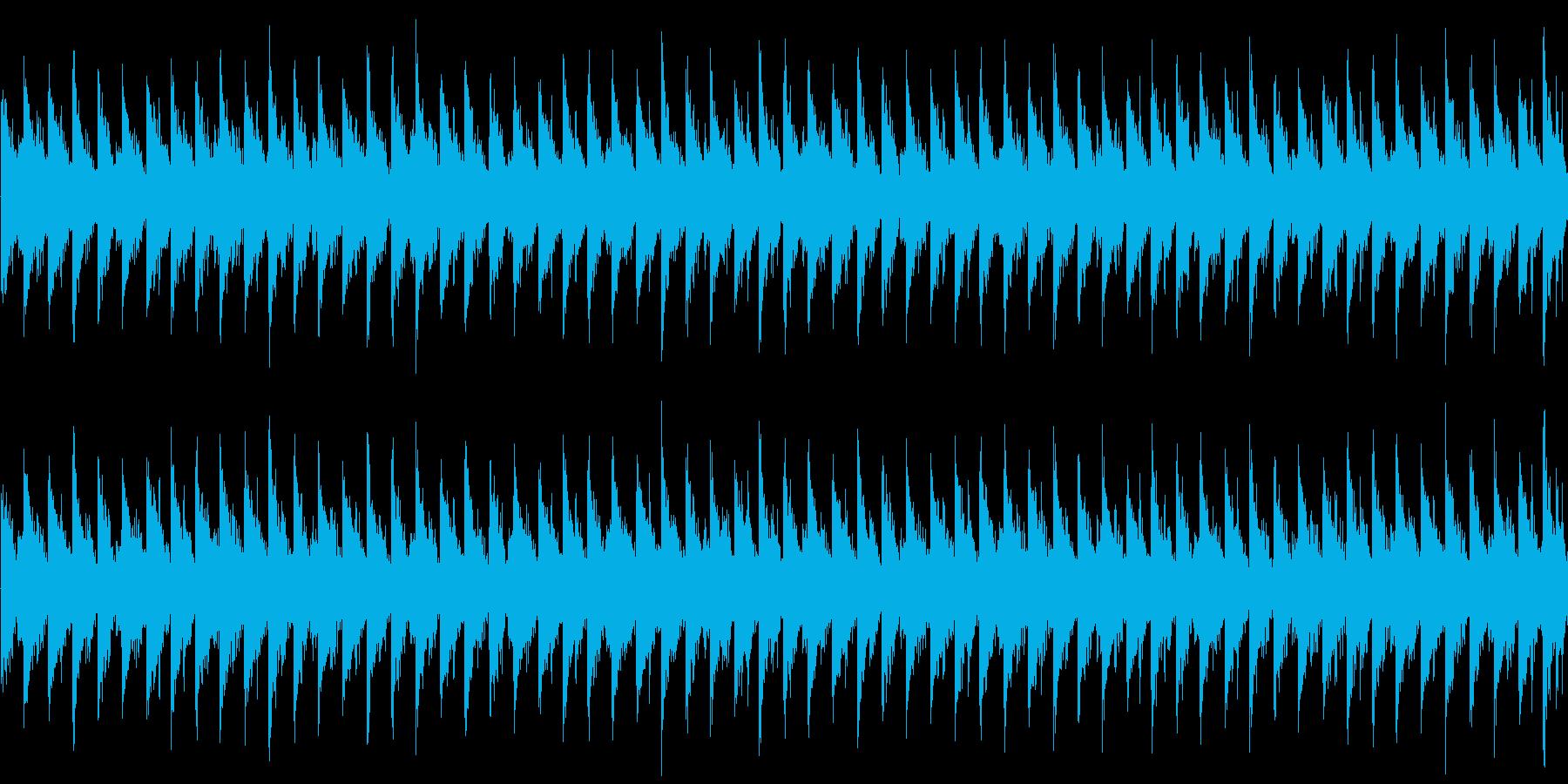 ふわふわとした空気感を味わえる楽曲です。の再生済みの波形