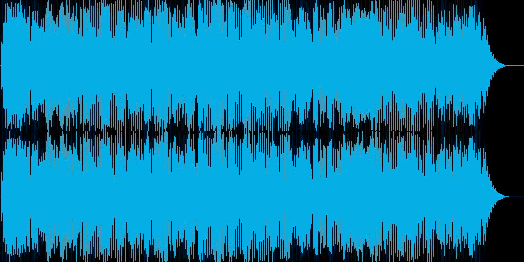 怪しく謎めいた雰囲気のロックの再生済みの波形