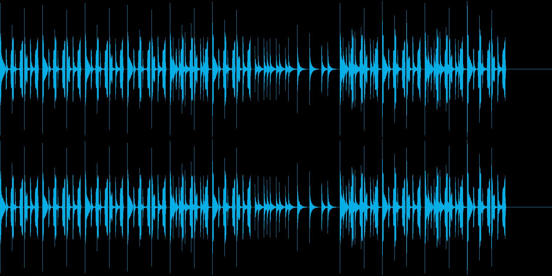 先進的で楽しいトイピアノの曲ですの再生済みの波形