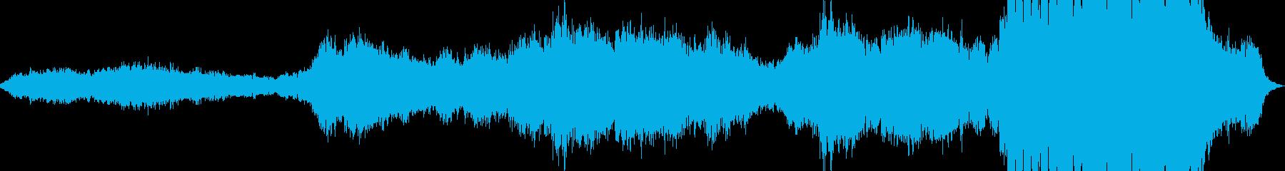 無機質なうねりのあるシンセが印象的の再生済みの波形