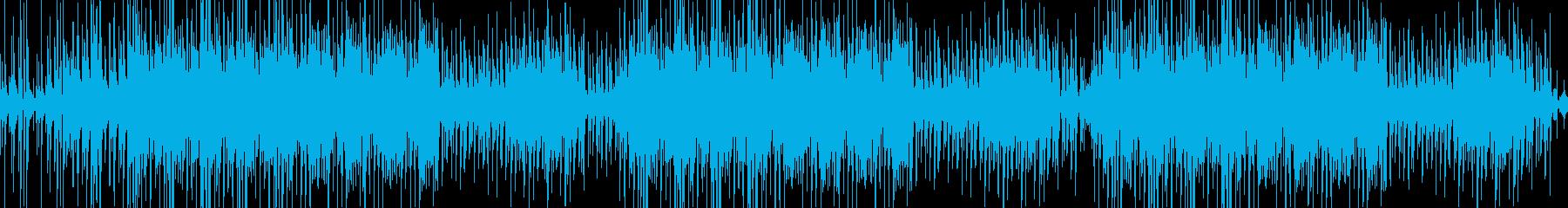 アコースティックでオシャレなポップスの再生済みの波形