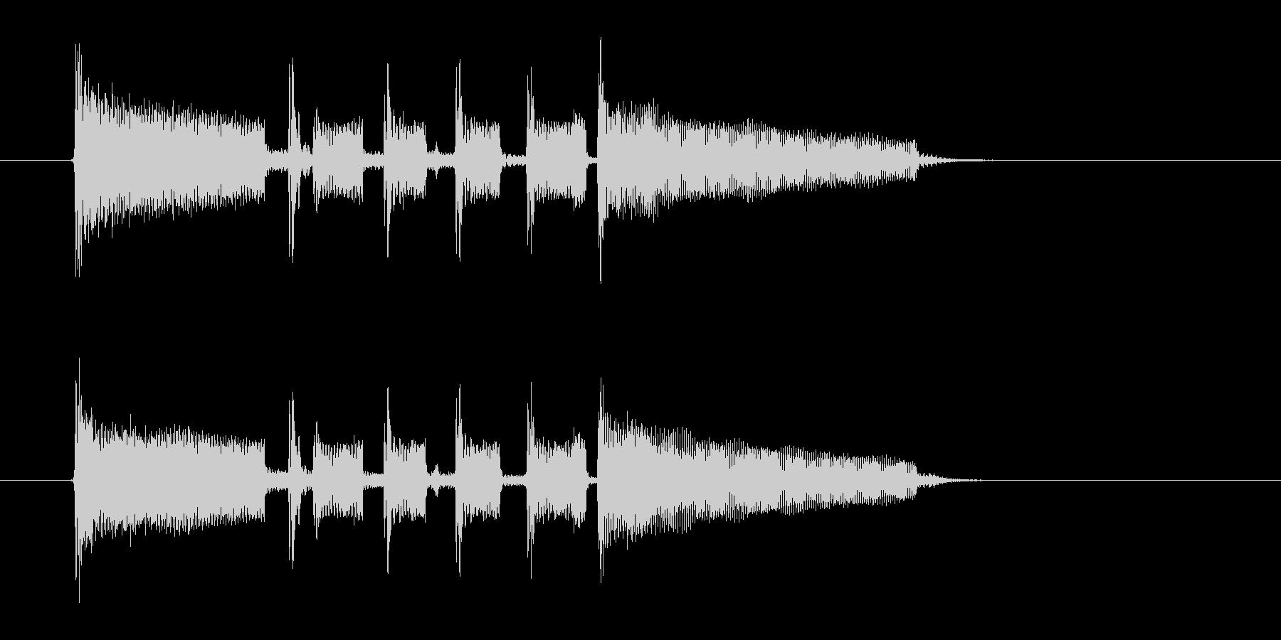 ジャズとポップスの融合の未再生の波形