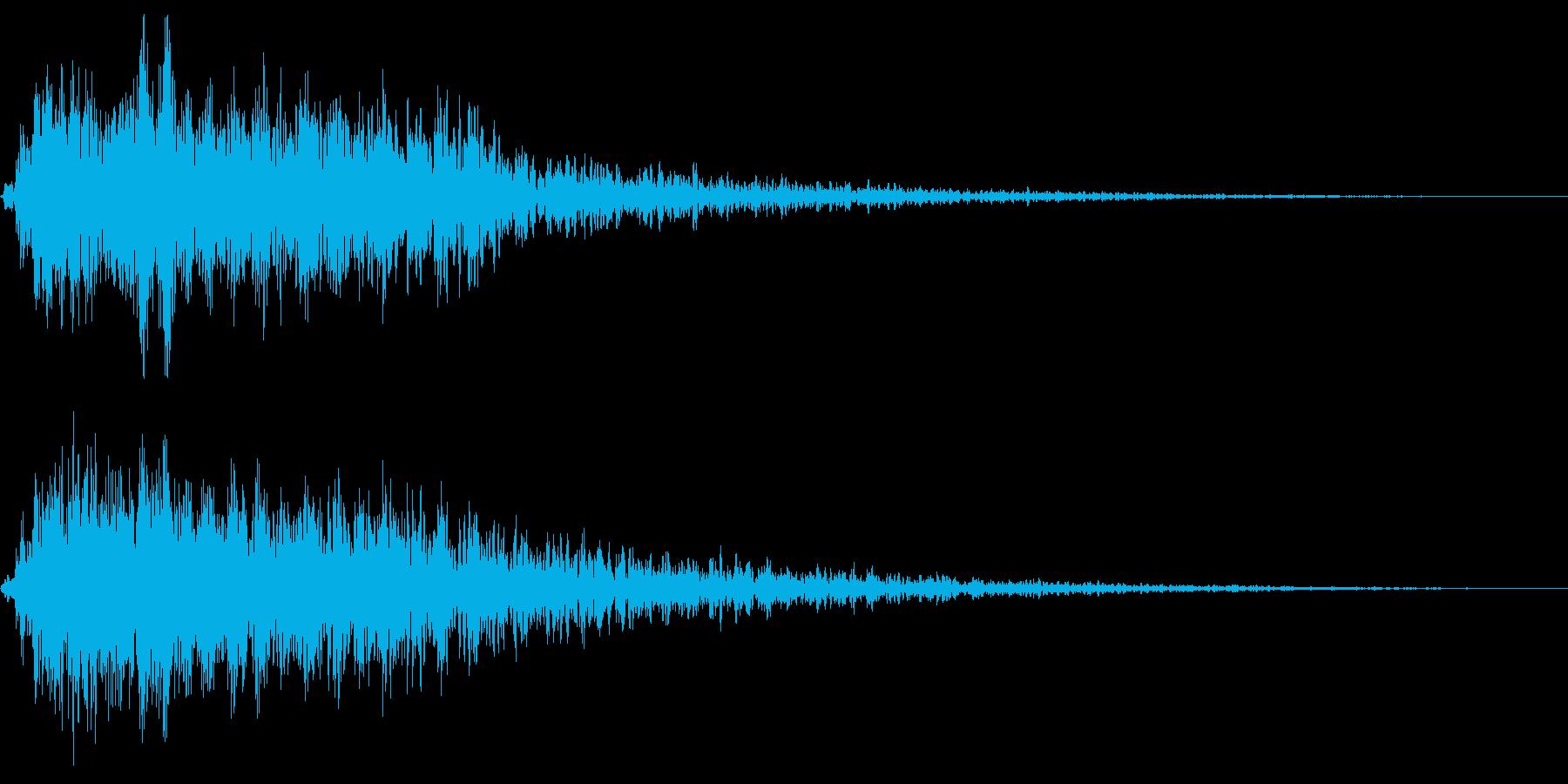 Animal 哀愁が漂うカラスの鳴き声の再生済みの波形