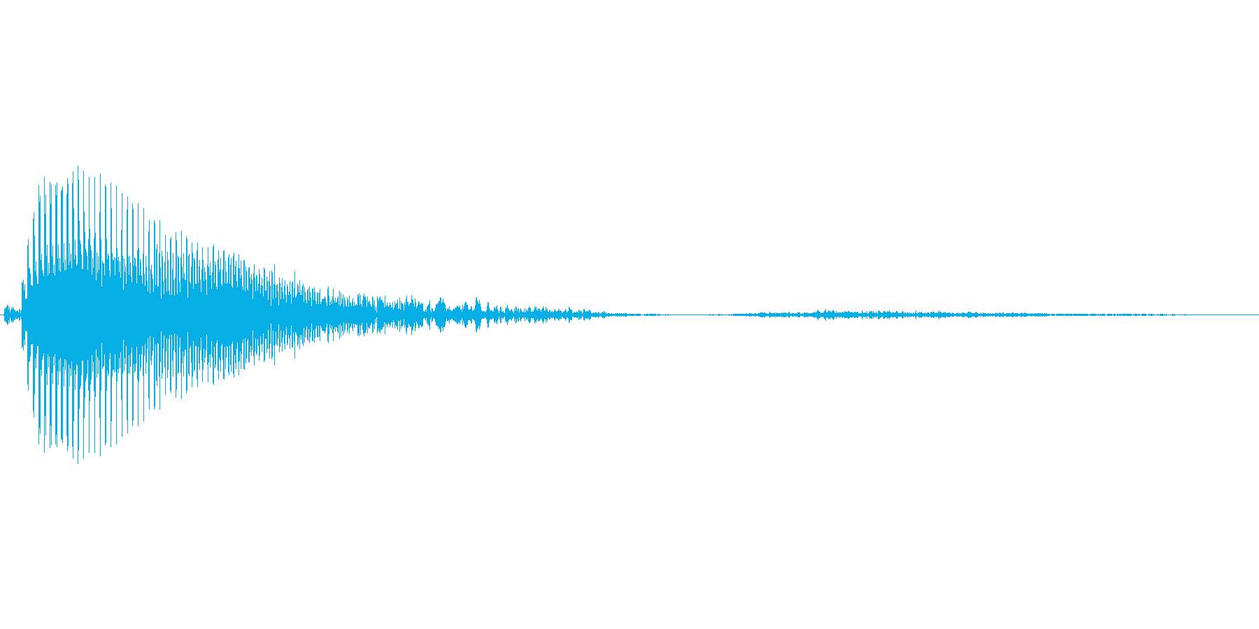 あっ【ダメージボイス、悲鳴】の再生済みの波形