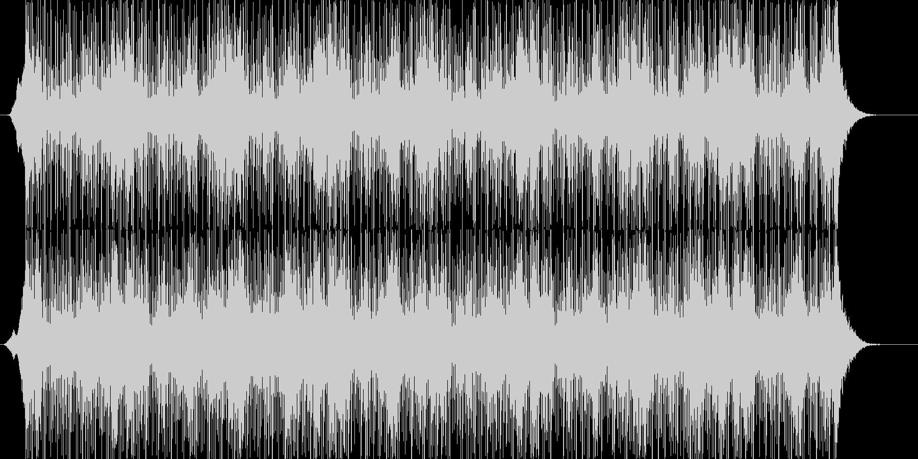 シリアスでダークなアンビエント系の曲の未再生の波形