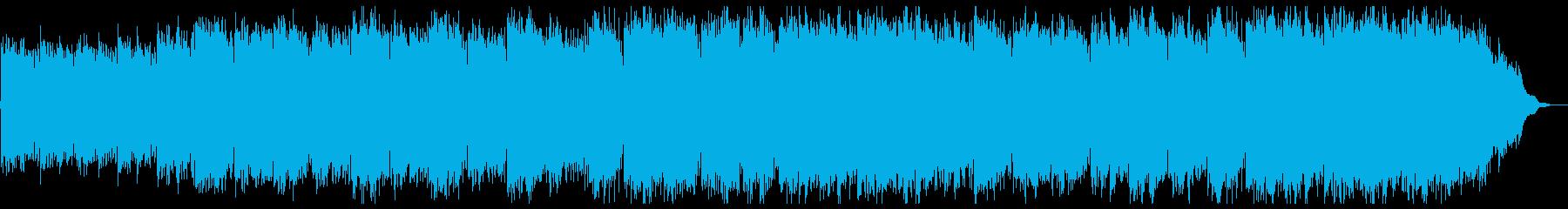 シンプルな癒し系ピアノとストリングスの再生済みの波形