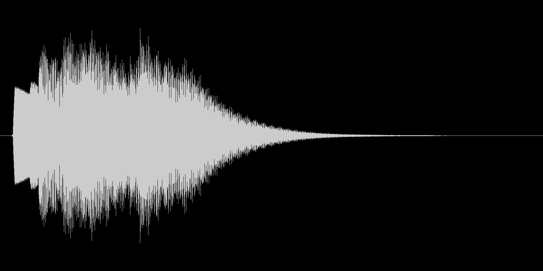 【効果音】クイズ系_正解02の未再生の波形