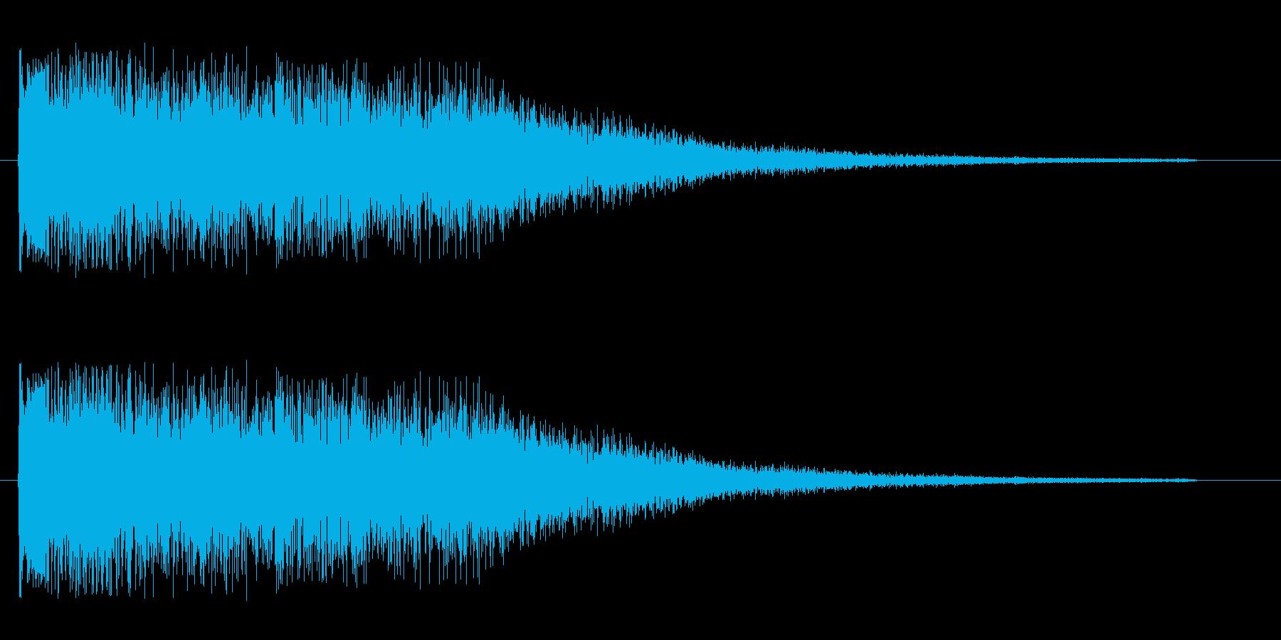 チュワワワワーン(高い)の再生済みの波形
