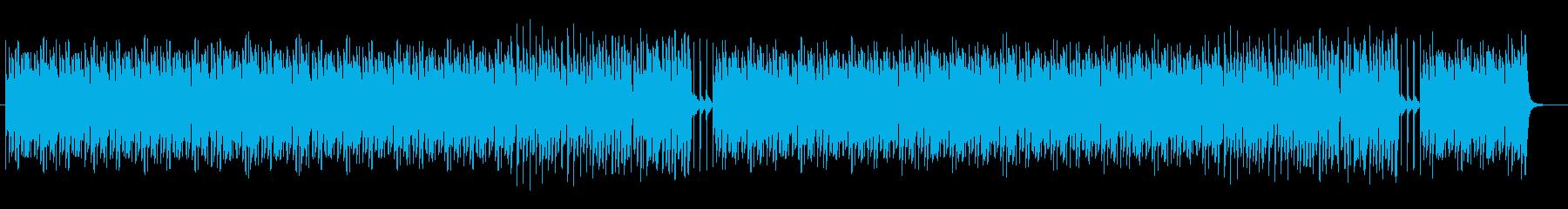 ポップでリズミカルなピアノBGMサウンドの再生済みの波形