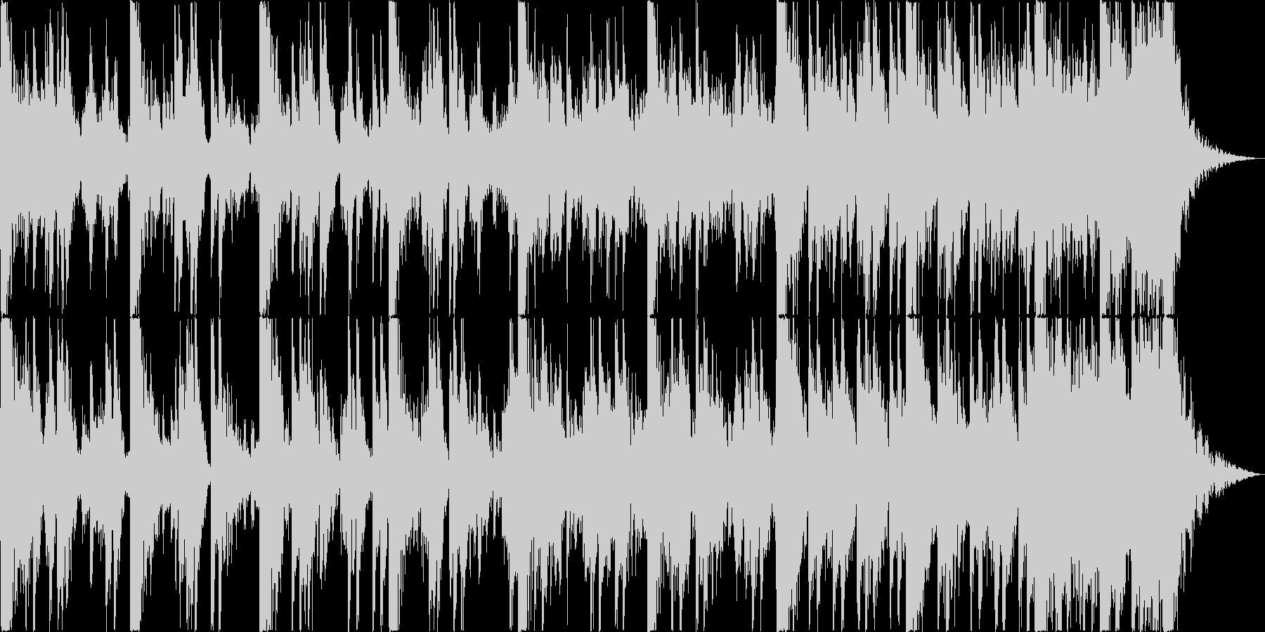 ハリウッド風トレイラー リズム主体10の未再生の波形