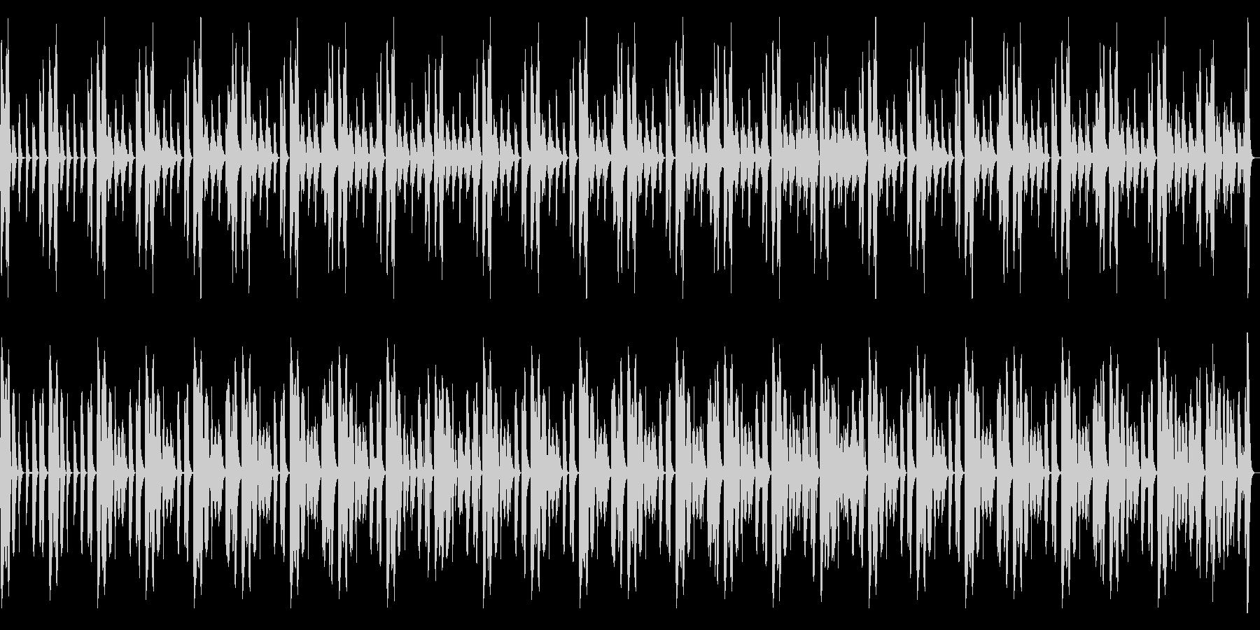 柔らかなコンセプトムービー用BGMの未再生の波形