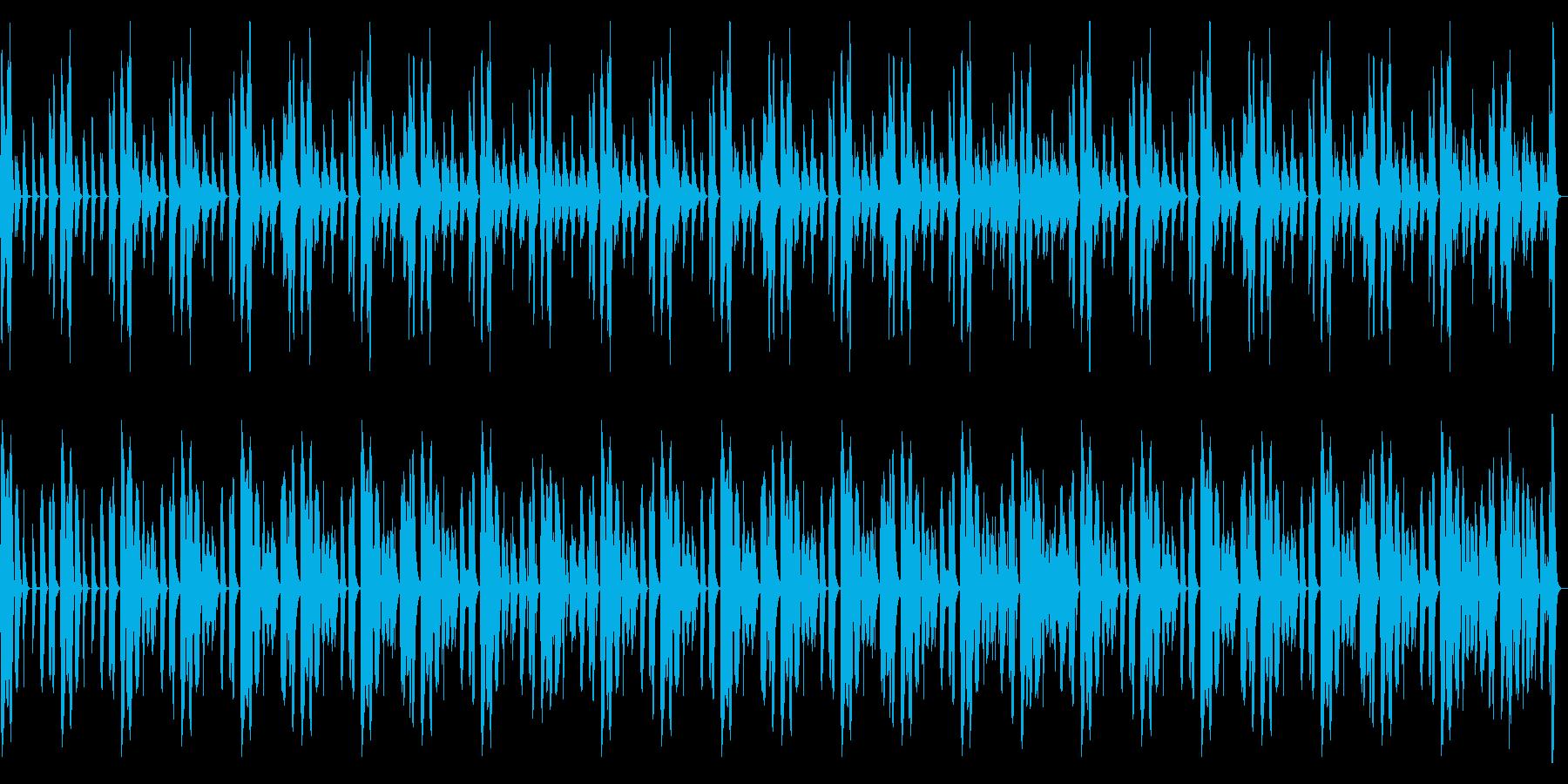 柔らかなコンセプトムービー用BGMの再生済みの波形