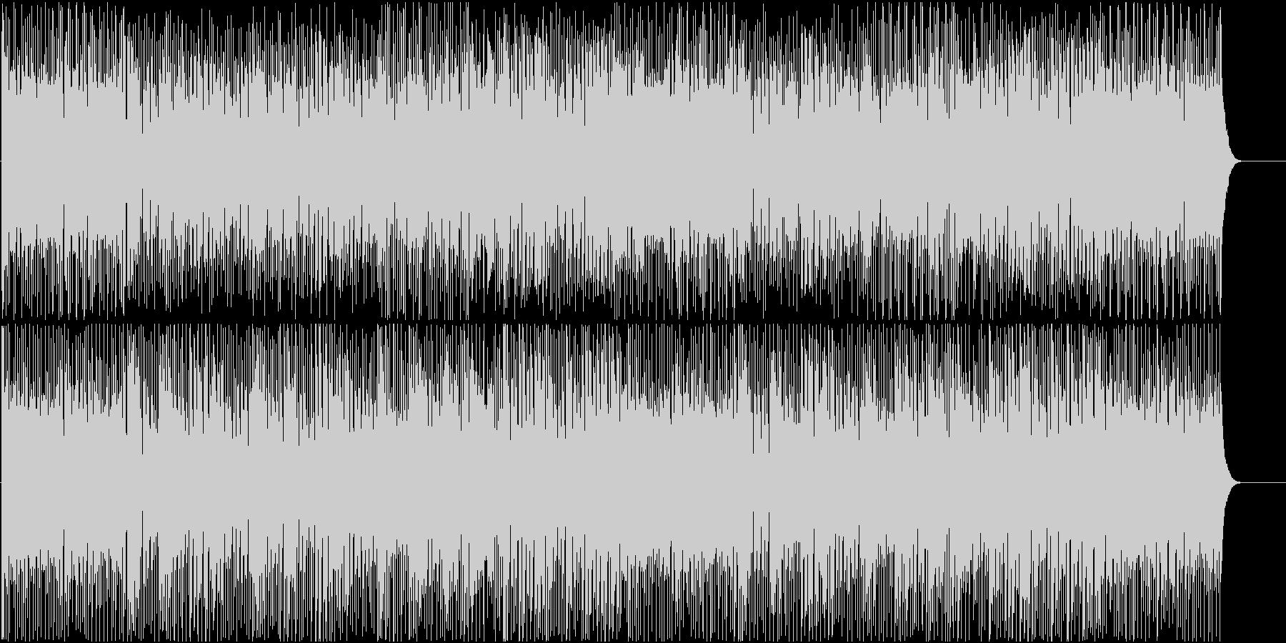 若さあふれる懐かしいディスコBGMの未再生の波形