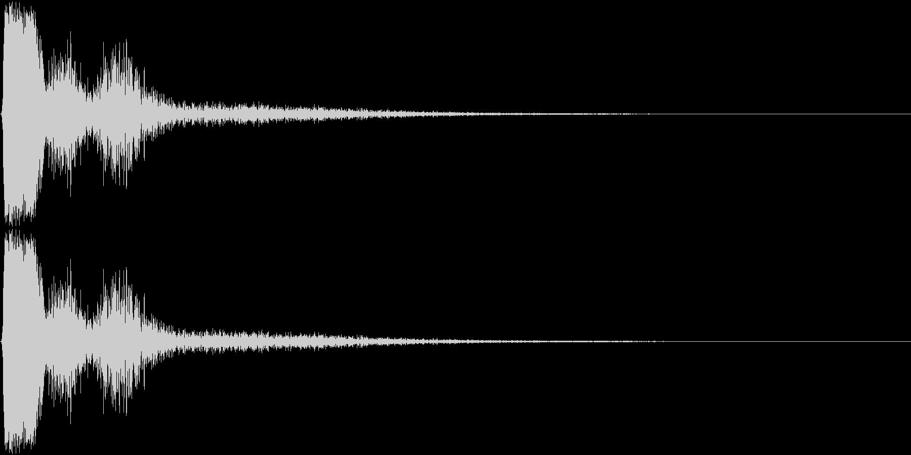 KAKUGE 格闘ゲーム戦闘音 57の未再生の波形