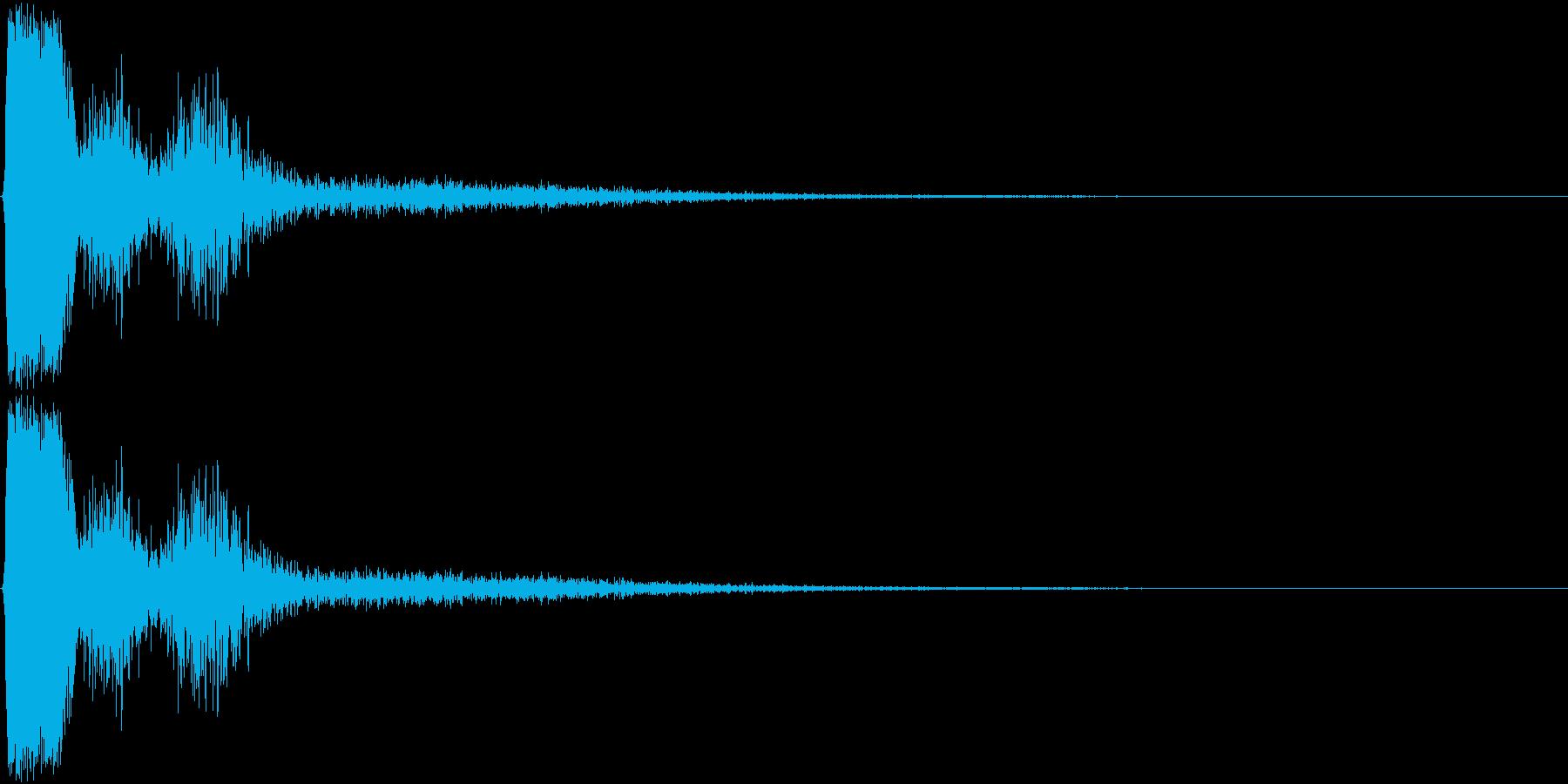 KAKUGE 格闘ゲーム戦闘音 57の再生済みの波形