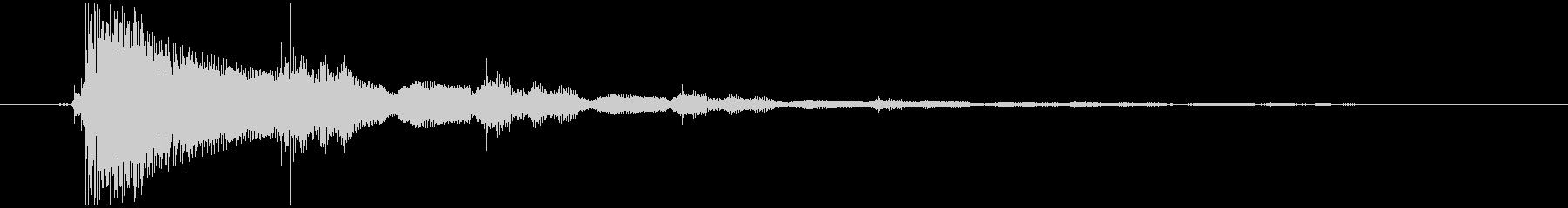効果音(エレキギター)1の未再生の波形