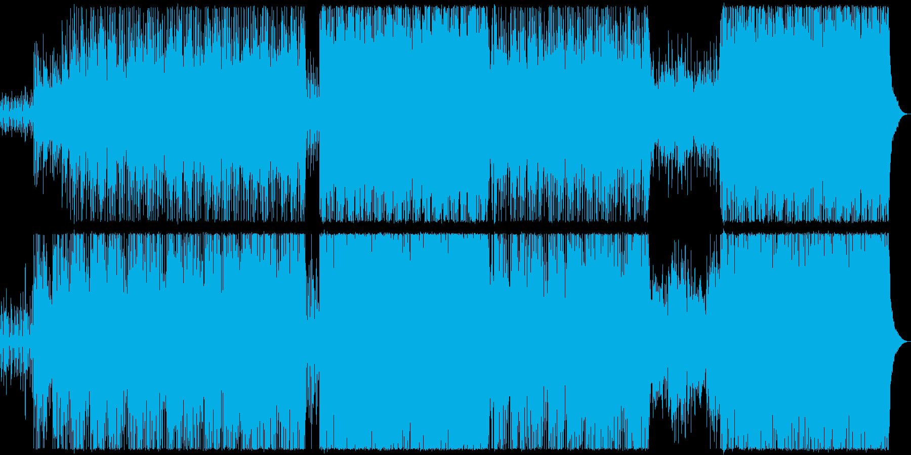 ピアノとパッド中心の透明感のある感動系の再生済みの波形