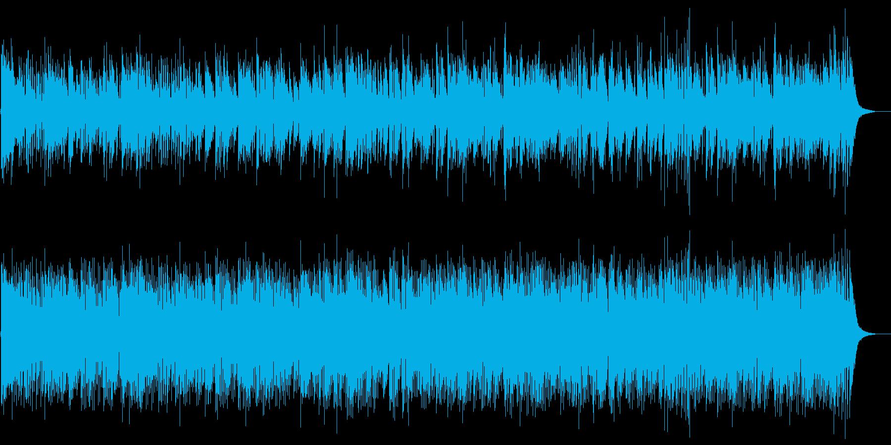 G線上のアリアJazzの再生済みの波形