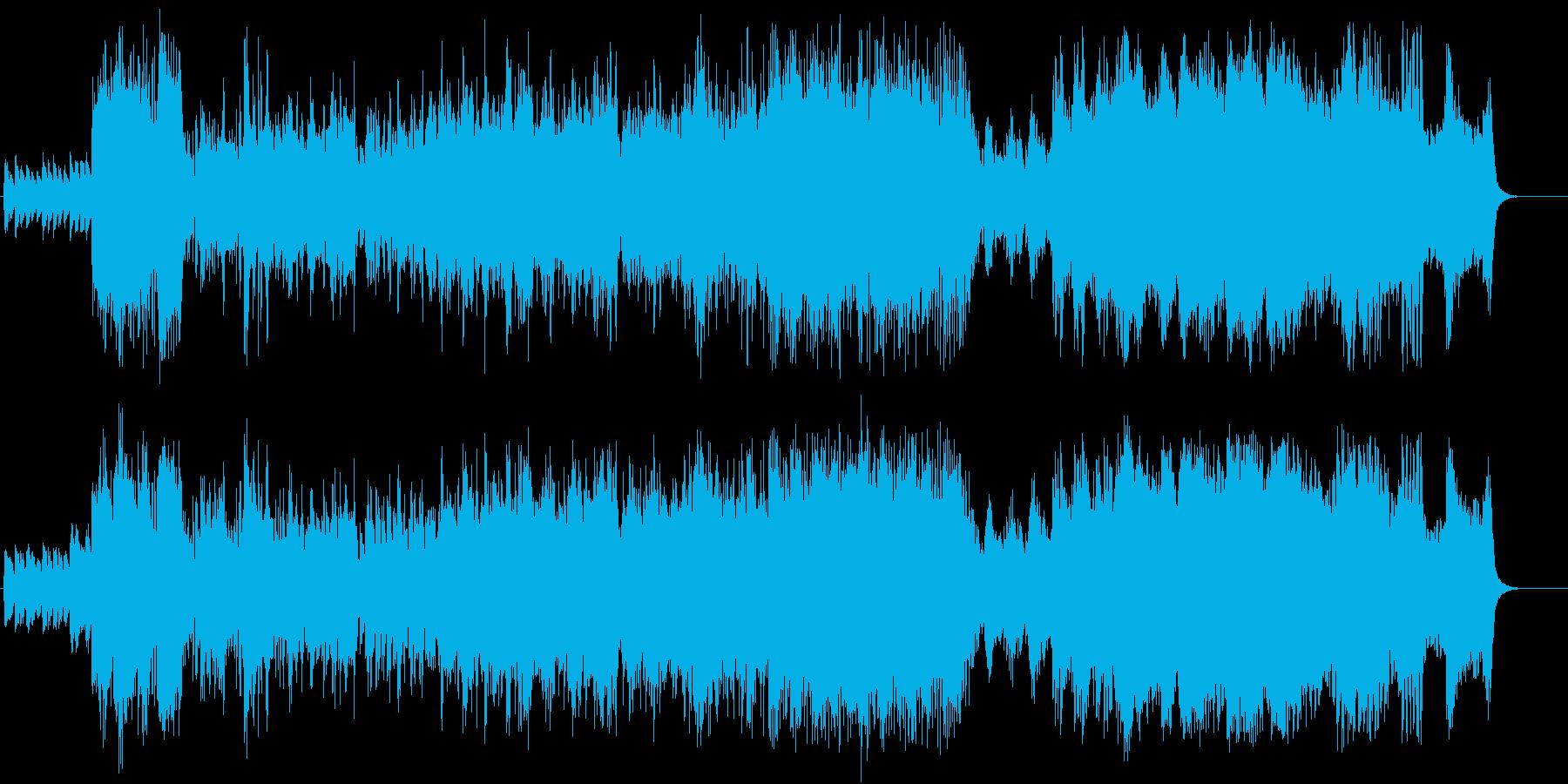 メリハリが効いた壮大なるオーケストラの再生済みの波形