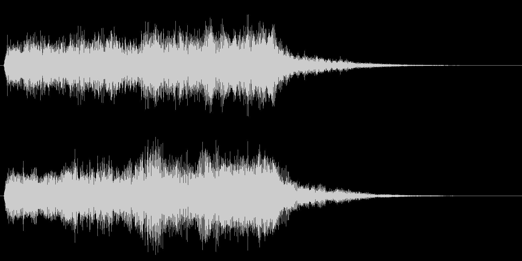 クリア 達成 正解 合格 オーケストラ の未再生の波形