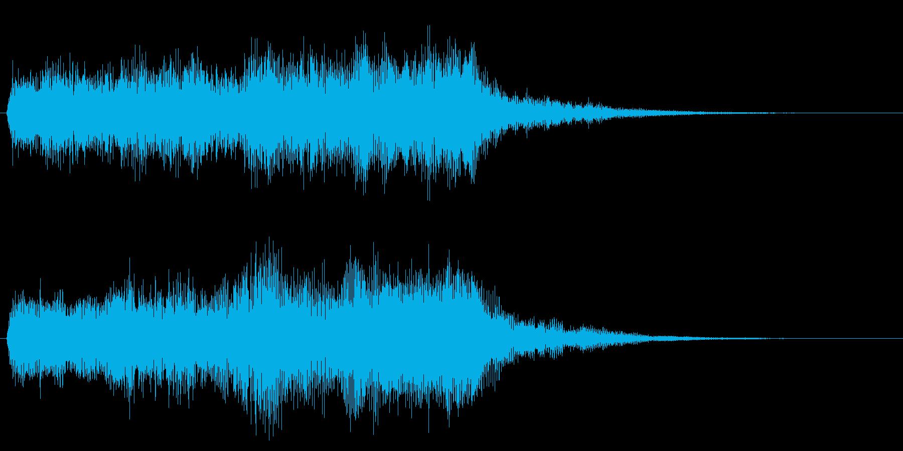 クリア 達成 正解 合格 オーケストラ の再生済みの波形