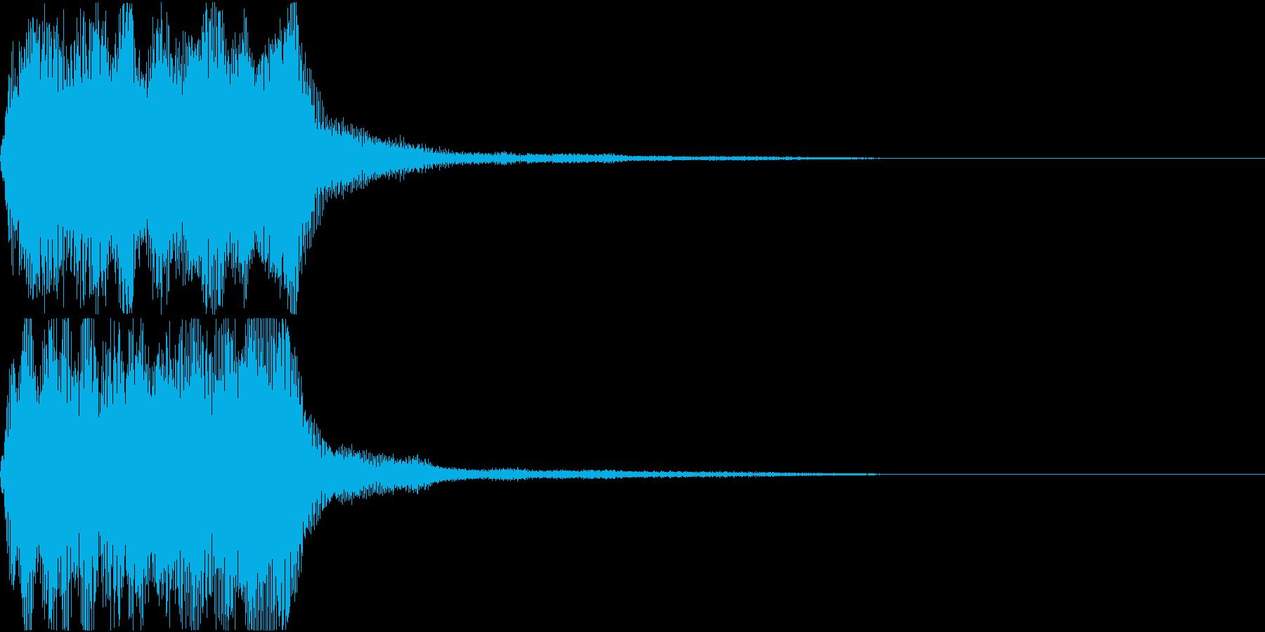 ラッパ ファンファーレ 定番 10 早いの再生済みの波形