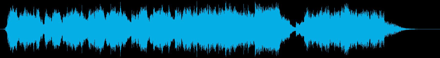 メルヘンチックなワルツの再生済みの波形