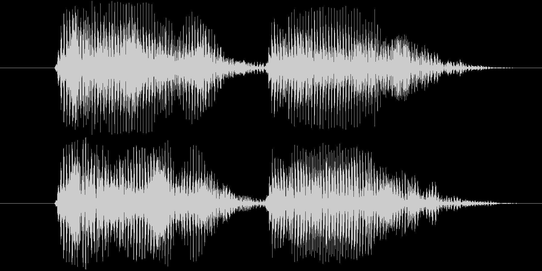 ウエルカム(ロボ系)の未再生の波形