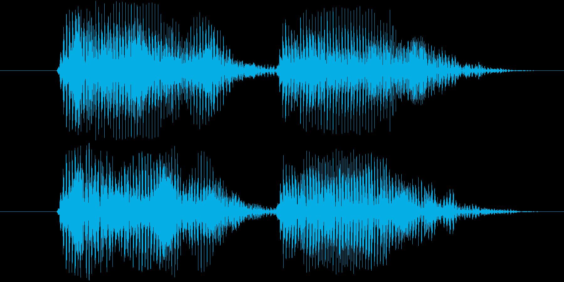 ウエルカム(ロボ系)の再生済みの波形