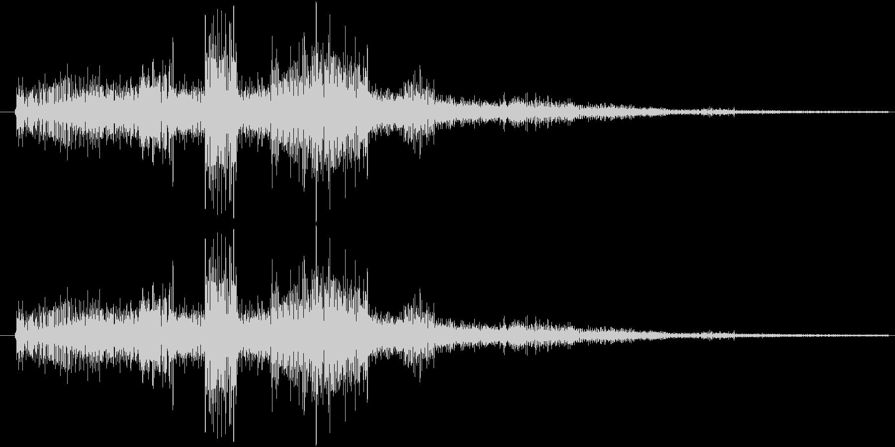 サウンドロゴ11の未再生の波形
